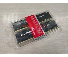 Kingston HyperX fury Black, DDR4 - 2x 8гб 2400