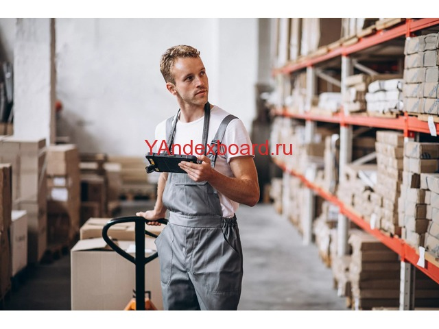 Грузчик-наборщик на склад