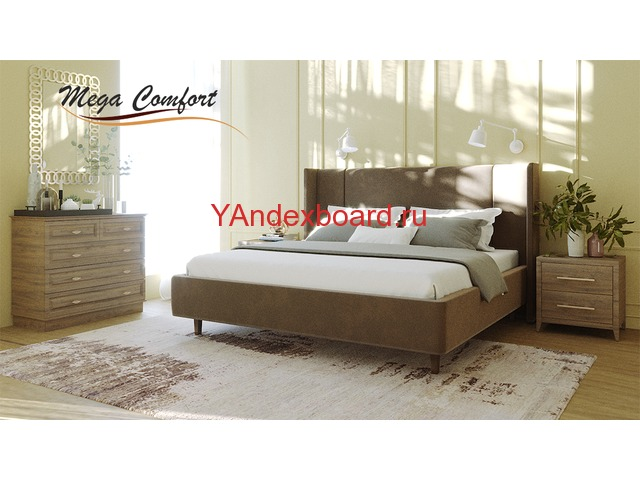 Интерьерная двуспальная кровать «Мелисса».
